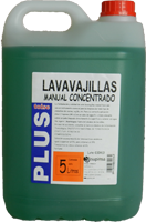 Lavavajillas manual concentrado toise plus 5l